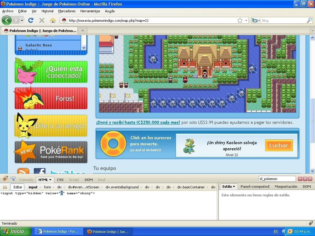 Hack Pokemon Dorado Evento FireBug 1.4 By FoxCasador 4-6