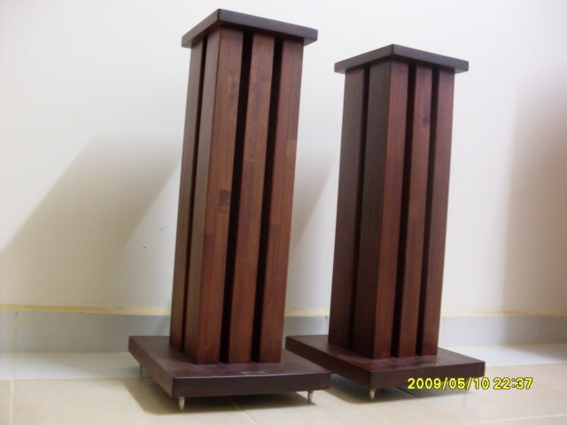 Ats 24 Quot Wooden Speaker Stands Used Sold