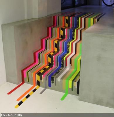Декор лестницы A26055bf5d0239f737abb2ad8a59b787