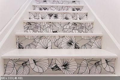 Декор лестницы 6f98da97673dd341f13f86f74625a9ba