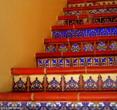 Декор лестницы 8cdf9f24cef7dc7d3edde986538a53d8