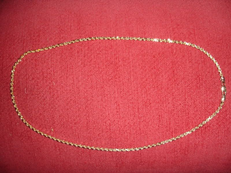 WTS:14K Solid gold chain!! DSC00623