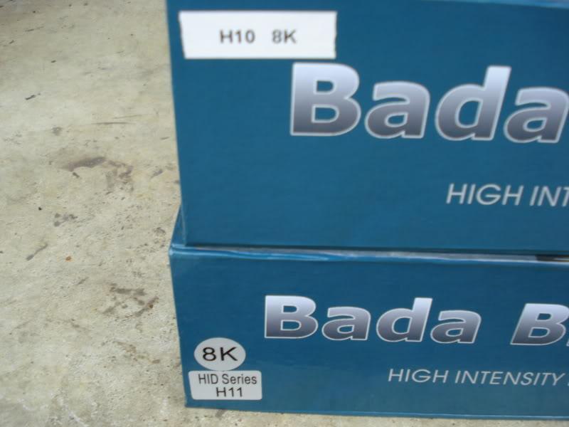 WTS:Bada Bling HID's 8K 35W DSC02471