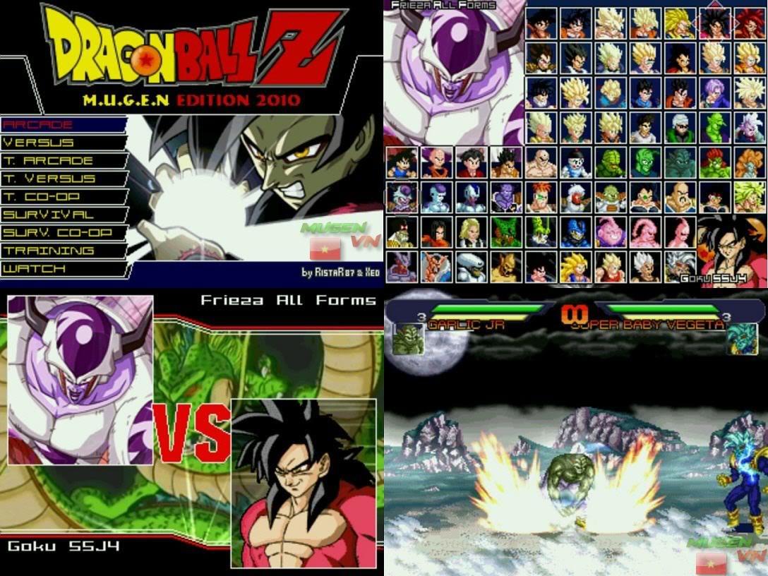 Tổng hợp Dragon Ball Mugen 2007 - 2008 - 2009 - 2010 - 2011 DBZE2010