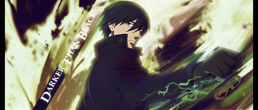 Darker Than Black RPG