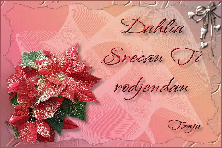 Dahlia, srecan rodjendan Dahliaces