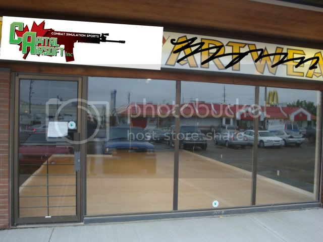 Capital Airsoft's new storefront :) DSC03314