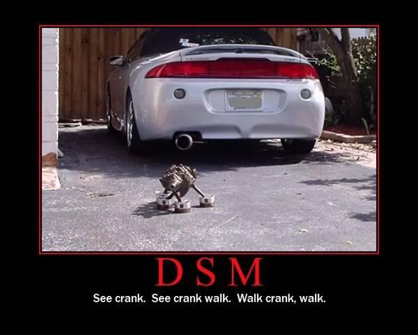What was the worst egine ever made? Dsmcrankwalk3bd