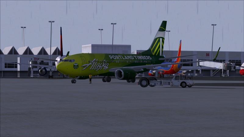 Seattle (KSEA) - Portland (KPDX): Boeing 737-700 NG Alaska Portland Timbers Avs_1130_zpsupifohcv