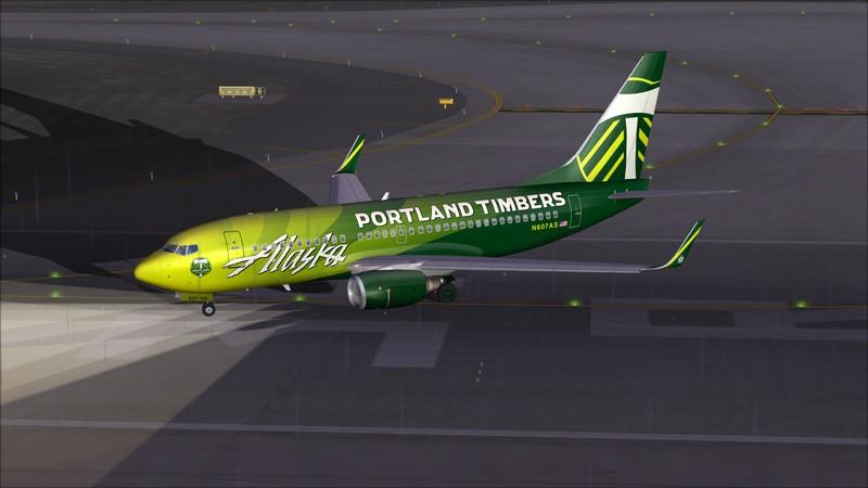 Seattle (KSEA) - Portland (KPDX): Boeing 737-700 NG Alaska Portland Timbers Avs_1141_zpscdfzlei7