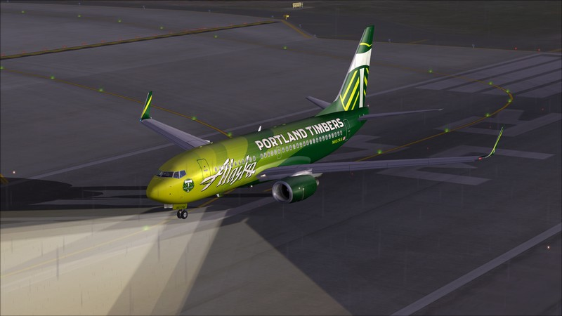 Seattle (KSEA) - Portland (KPDX): Boeing 737-700 NG Alaska Portland Timbers Avs_1143_zpsdewfyw57