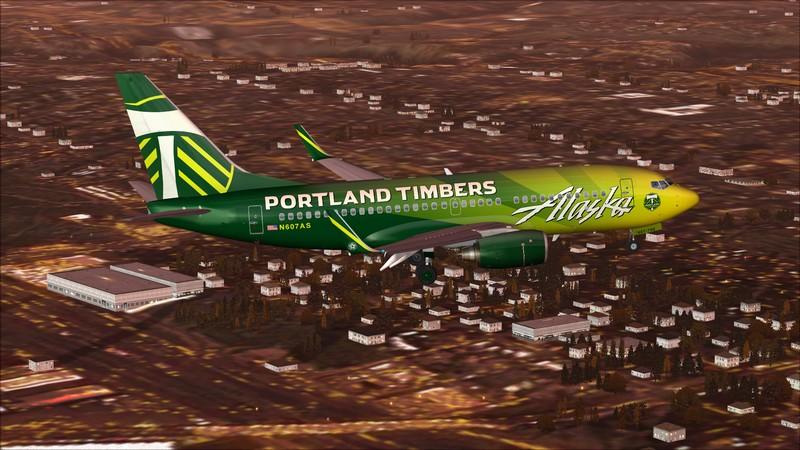 Seattle (KSEA) - Portland (KPDX): Boeing 737-700 NG Alaska Portland Timbers Avs_1173_zpsa3hjxyke