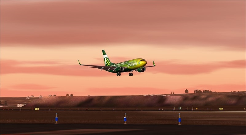 Seattle (KSEA) - Portland (KPDX): Boeing 737-700 NG Alaska Portland Timbers Avs_1193_zps7hcxofza
