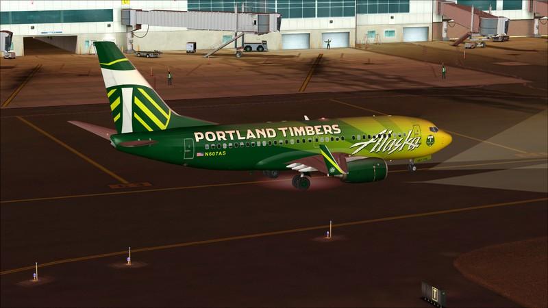 Seattle (KSEA) - Portland (KPDX): Boeing 737-700 NG Alaska Portland Timbers Avs_1198_zps2kikp6nd