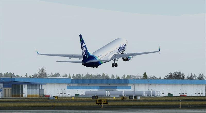 Portland (KPDX) - São Francisco (KSFO): Boeing 737-900ER Alaska Avs_1236_zpsvggct71l