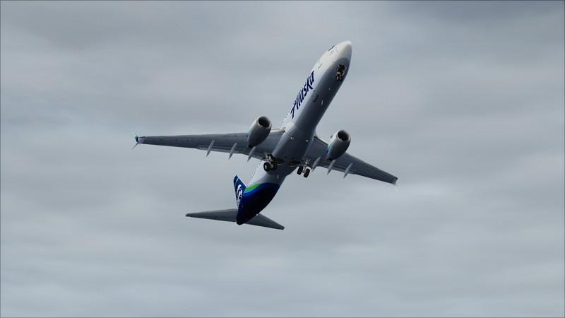 Portland (KPDX) - São Francisco (KSFO): Boeing 737-900ER Alaska Avs_1239_zpsddixqwun