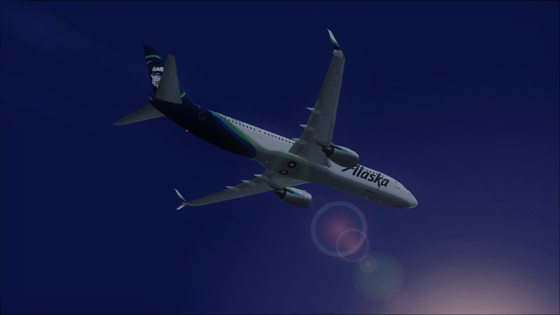 Portland (KPDX) - São Francisco (KSFO): Boeing 737-900ER Alaska Avs_1251_zpsipymf2ra