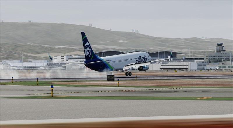 Portland (KPDX) - São Francisco (KSFO): Boeing 737-900ER Alaska Avs_1277_zps4sc64u41