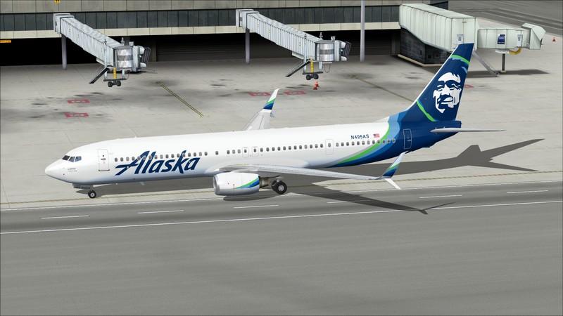 Portland (KPDX) - São Francisco (KSFO): Boeing 737-900ER Alaska Avs_1294_zpsjxttbttg