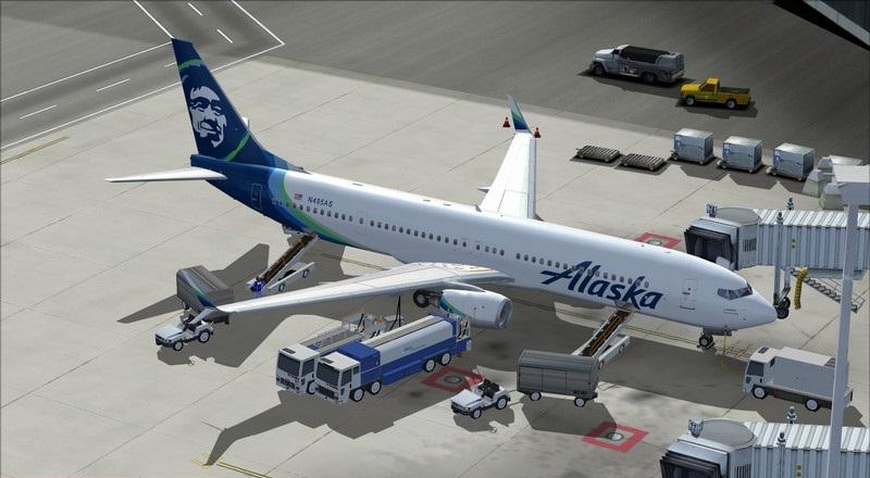 Portland (KPDX) - São Francisco (KSFO): Boeing 737-900ER Alaska Avs_1298_zpsfvlm9k58