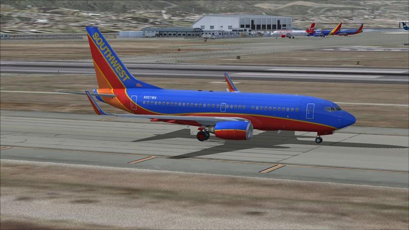 São Francisco (KSFO) - Los Angeles (KLAX): Boeing 737-700 NG Southwest. Avs_1307_zpsvszhbrjb