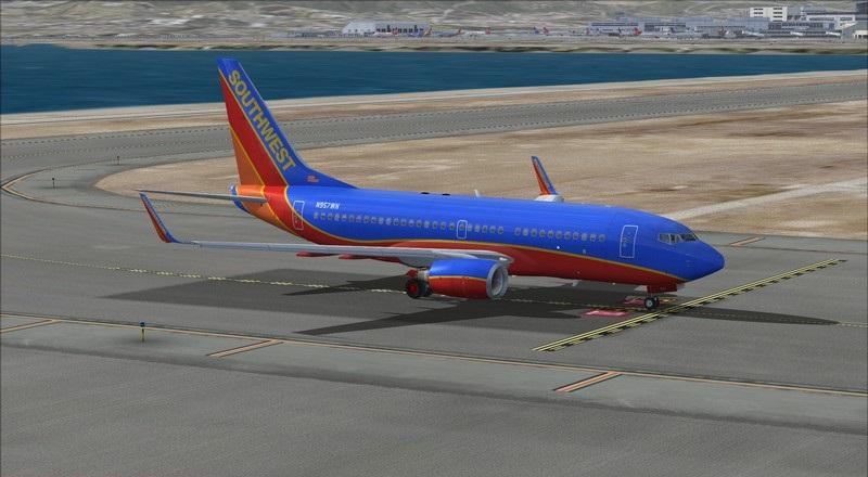 São Francisco (KSFO) - Los Angeles (KLAX): Boeing 737-700 NG Southwest. Avs_1317_zpsxlokyxss
