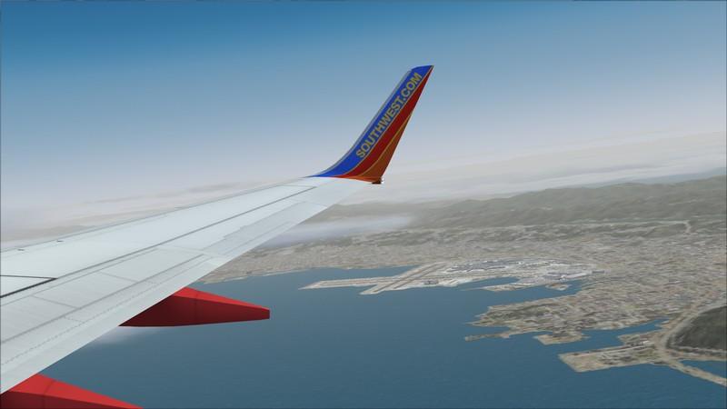 São Francisco (KSFO) - Los Angeles (KLAX): Boeing 737-700 NG Southwest. Avs_1334_zpsni8tadav