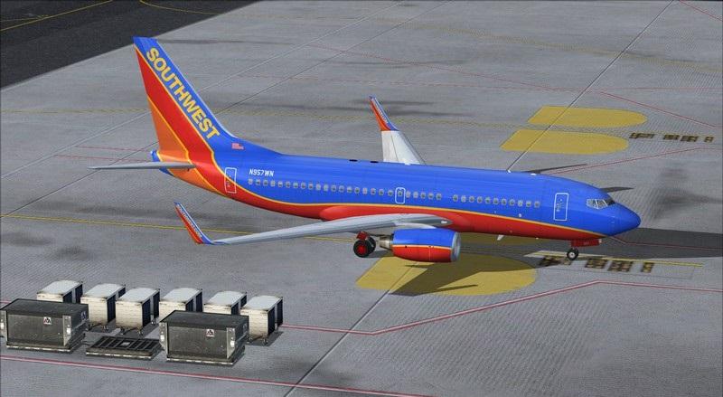 São Francisco (KSFO) - Los Angeles (KLAX): Boeing 737-700 NG Southwest. Avs_1402_zpsrkubayyx