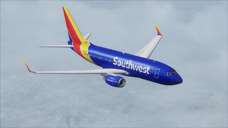 Orange County (KSNA) - Las Vegas (KLAS): Boeing 737-700 NG Southwest NC. Avs_1537_zpstbmkckaz