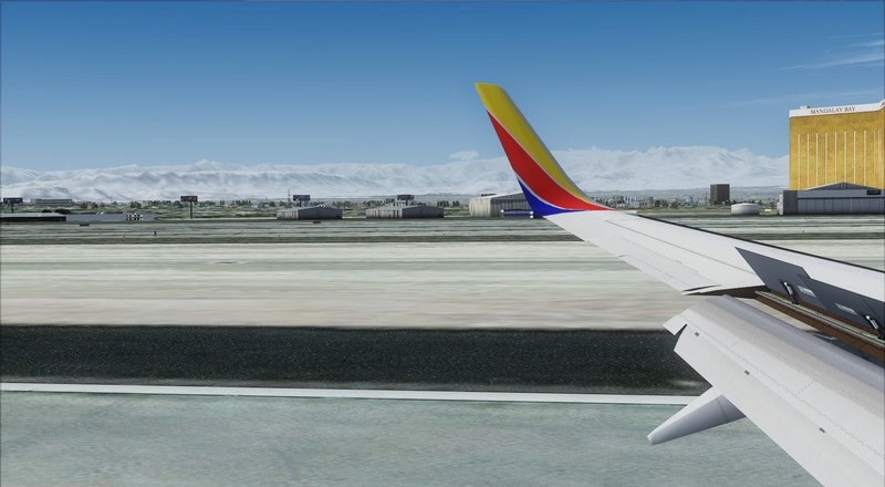 Orange County (KSNA) - Las Vegas (KLAS): Boeing 737-700 NG Southwest NC. Avs_1554_zpscl7kg7nm