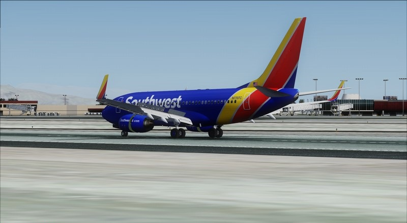 Orange County (KSNA) - Las Vegas (KLAS): Boeing 737-700 NG Southwest NC. Avs_1561_zps2rng8ggq