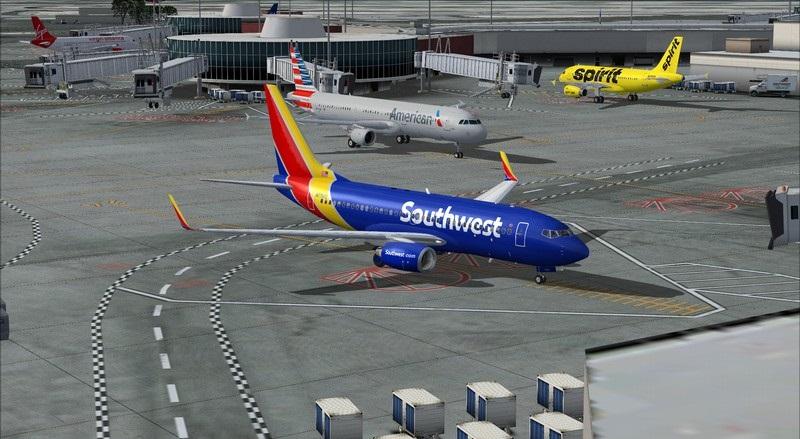 Orange County (KSNA) - Las Vegas (KLAS): Boeing 737-700 NG Southwest NC. Avs_1569_zps1vcblqi4
