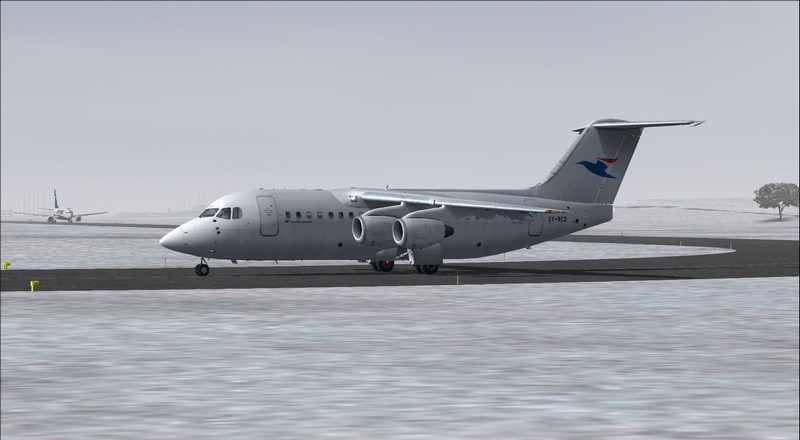 Billund (EKBI) - Vagar (EKVG): Avro RJ85 Atlantic Airways. Avs_2442_zpszcbapfw3
