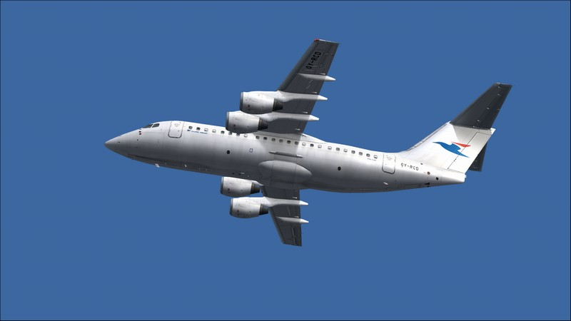 Billund (EKBI) - Vagar (EKVG): Avro RJ85 Atlantic Airways. Avs_2453_zpsjftpd7rq