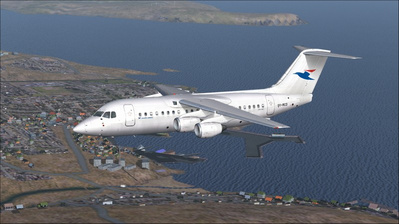 Billund (EKBI) - Vagar (EKVG): Avro RJ85 Atlantic Airways. Avs_2478_zpss4oajxc1