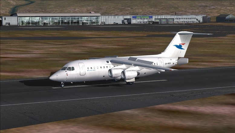 Billund (EKBI) - Vagar (EKVG): Avro RJ85 Atlantic Airways. Avs_2509_zps7od0d5sb