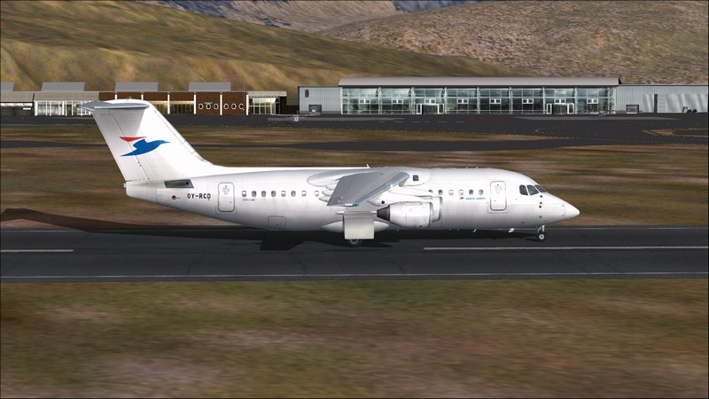 Billund (EKBI) - Vagar (EKVG): Avro RJ85 Atlantic Airways. Avs_2518_zps1xlvasoh