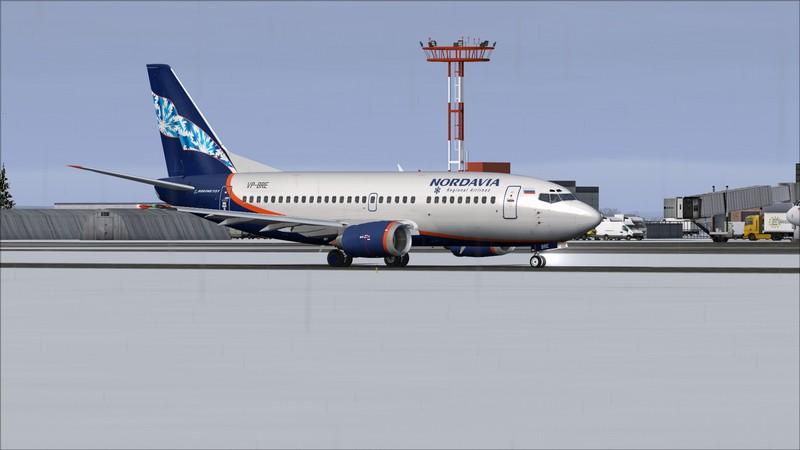 Moscou Sheremetyevo (UUEE) - São Petersburgo Pulkovo (ULLI): Nordavia Boeing 737-500 Avs_2831_zpsdccp878a