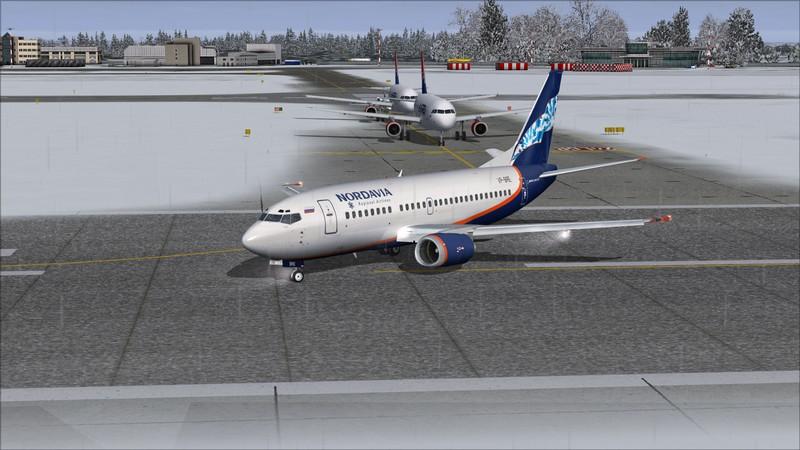 Moscou Sheremetyevo (UUEE) - São Petersburgo Pulkovo (ULLI): Nordavia Boeing 737-500 Avs_2839_zpsamcebepv