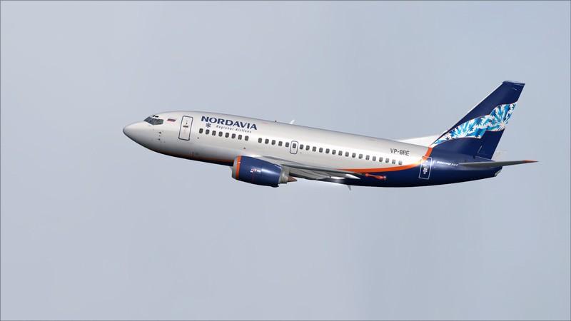 Moscou Sheremetyevo (UUEE) - São Petersburgo Pulkovo (ULLI): Nordavia Boeing 737-500 Avs_2856_zpslqthblyx