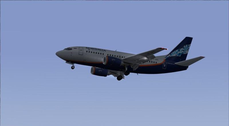 Moscou Sheremetyevo (UUEE) - São Petersburgo Pulkovo (ULLI): Nordavia Boeing 737-500 Avs_2873_zpsrg5wutoo