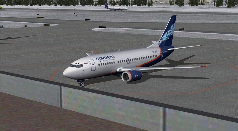 Moscou Sheremetyevo (UUEE) - São Petersburgo Pulkovo (ULLI): Nordavia Boeing 737-500 Avs_2887_zpsknnyps9k
