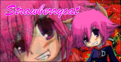 Rate the avatar above you! - Page 2 StrawberryBanner