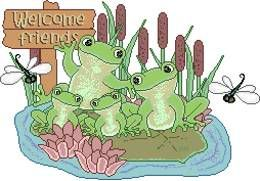Greetings to our newest member BruceP Frog-1