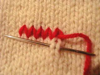 Thêu lên sản phẩm đan Fiche314