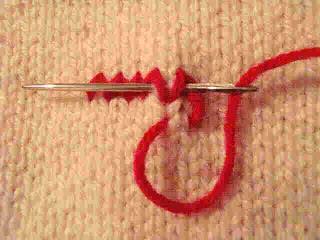 Thêu lên sản phẩm đan Fiche315