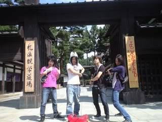 [Random](?) Girugamesh travel to Edo-era Village~ Sdsf