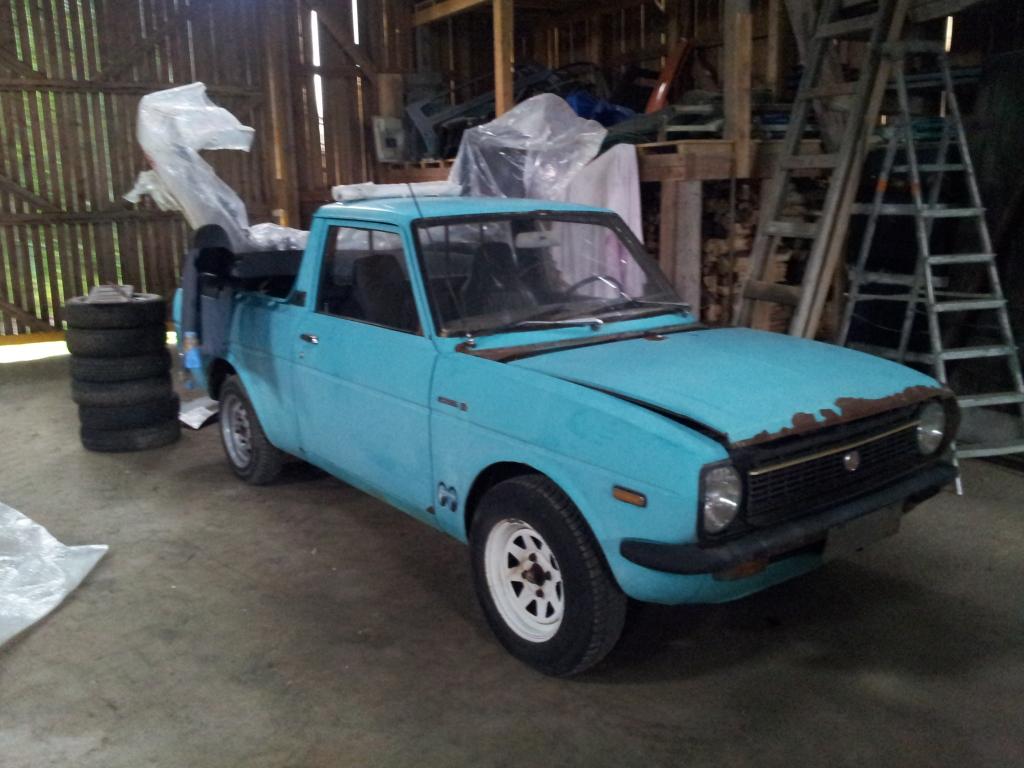 """kikarikoiso: Toyota """"tonninen"""" + Mercs 20120630_184851"""