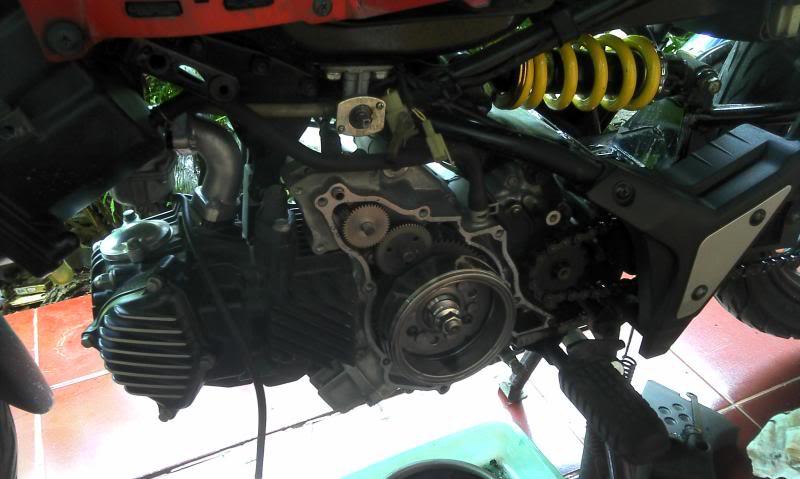 Modif kelistrikan jadi full DC (fullwave) seperti motorsport PIC050