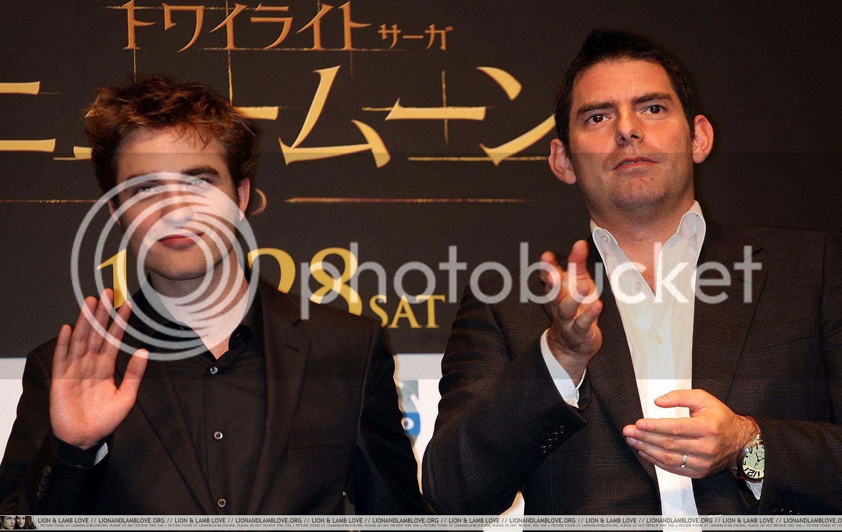Japan Tour... Promo New Moon... Nov. 3rd 2009 avec Chris Wei 009